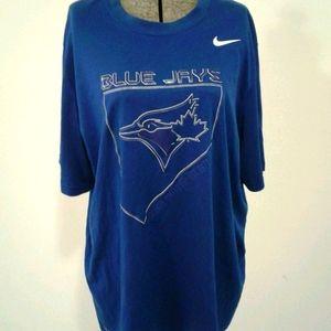 TORONTO BLUE JAYS MENS SHORT SLEEVE SHIRT XL Nike
